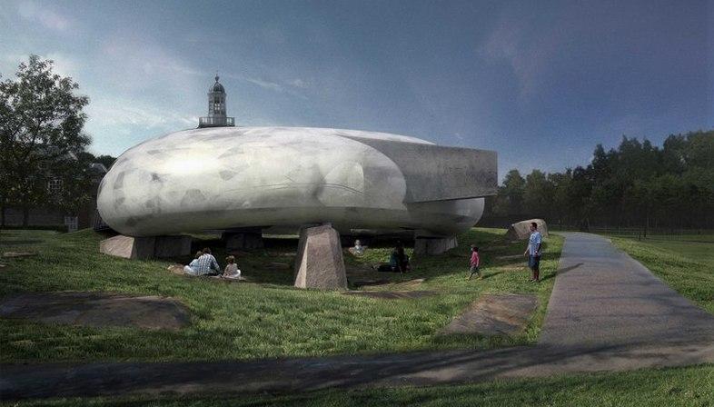 Smiljan Radic designs the 2014 Serpentine Gallery pavilion