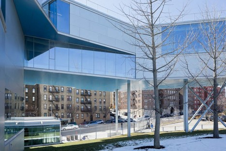 Steven Holl Campbell Sports Center - Columbia University New York