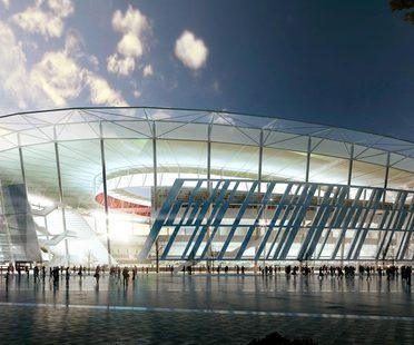Dan Meis new stadium for Rome's football team