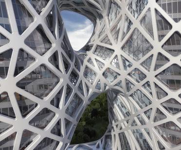 Zaha Hadid Architects City of Dreams Hotel Tower Macau