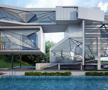 Urban Office Architecture, Aviator's Villa