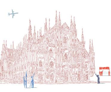 Identità Milano exhibition - Triennale di Milano