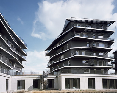 Ginko Eco-Neighbourhood by Nicolas Laisné and Christophe Rousselle