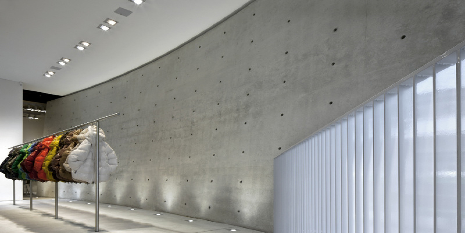 promo code 272fe a4359 Tadao Ando designs new Duvetica showroom and flagship store ...