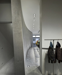 Tadao Ando designs new Duvetica showroom and flagship store in Milan