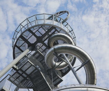 Carsten Höller's Vitra Slide Tower: a new building for the Vitra Campus