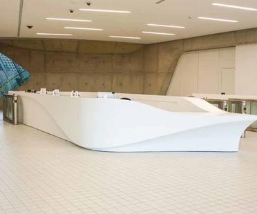 Zaha Hadid Architects new design elements for the London Aquatics Centre
