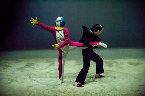 Monditalia stage for the 2014 Biennale of Dance in Venice
