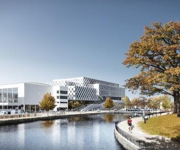 3XN wins the design competition for Sweden's Mälardalen University