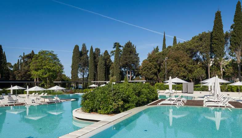 Studio 3LHD Lone Outdoor Pool in Golden Cape Forest Park, Rovinj, Croatia