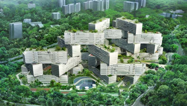 OMA's The Interlace wins the first CTBUH Urban Habitat Award