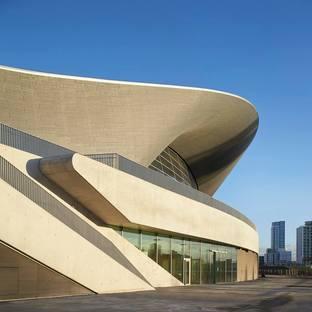 Zaha Hadid Architects London Aquatics Centre ph.Hufton and Crow