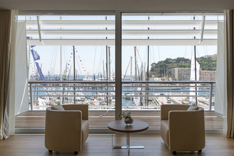 The new Monaco Yacht Club by Foster+Partners is inaugurated