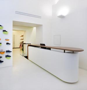 Alvisi Kirimoto + Partners Davide Cenci Junior Store Roma
