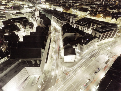 Wolfram Janker: One of four motifs from: View from the Tagblatt-Tower,2011