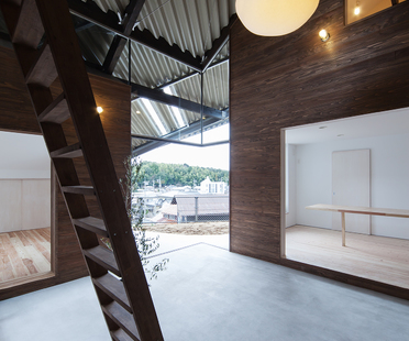 y+M design's Rain Shelter House in Yanogo (Japan)