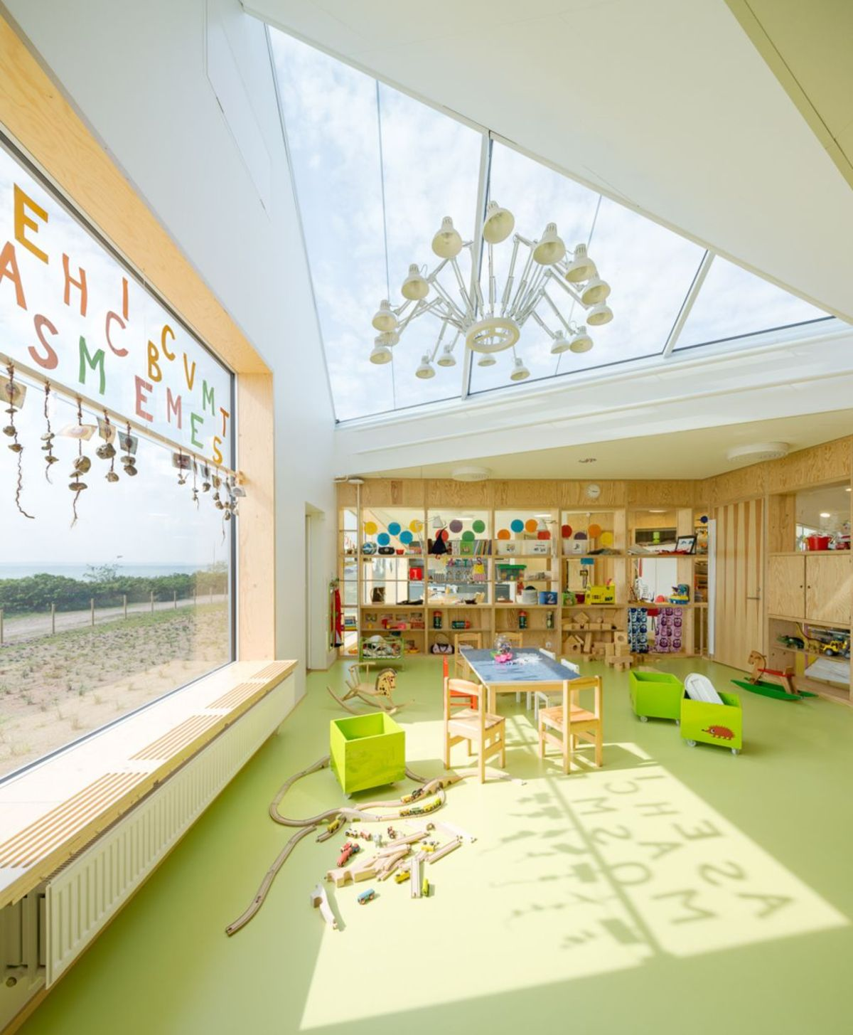 Dorte Mandrup Arkitekter designs the Råå Day Care Centre in Sweden