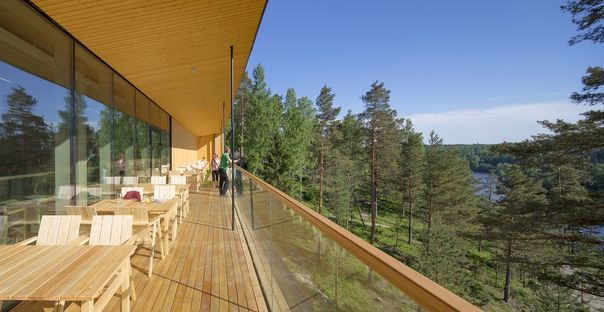 Lahdelma & Mahlamäki design the Finnish Nature Centre Haltia in Espoo