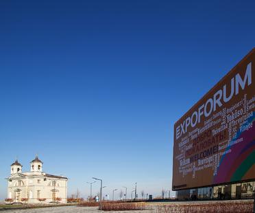 St. Petersburg Expoforum: Speech and Gerasimov with GranitiFiandre