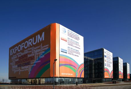 St. Petersburg Expoforum: Speech and Gerasimov with GranitiFiandre