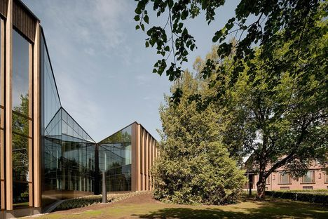 MX_SI and the expansion of the Gosta Serlachius Museum in Finland