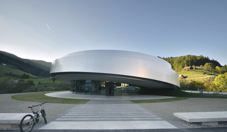 Cultural Center of European Space Technologies (KSEVT) in Vitanje
