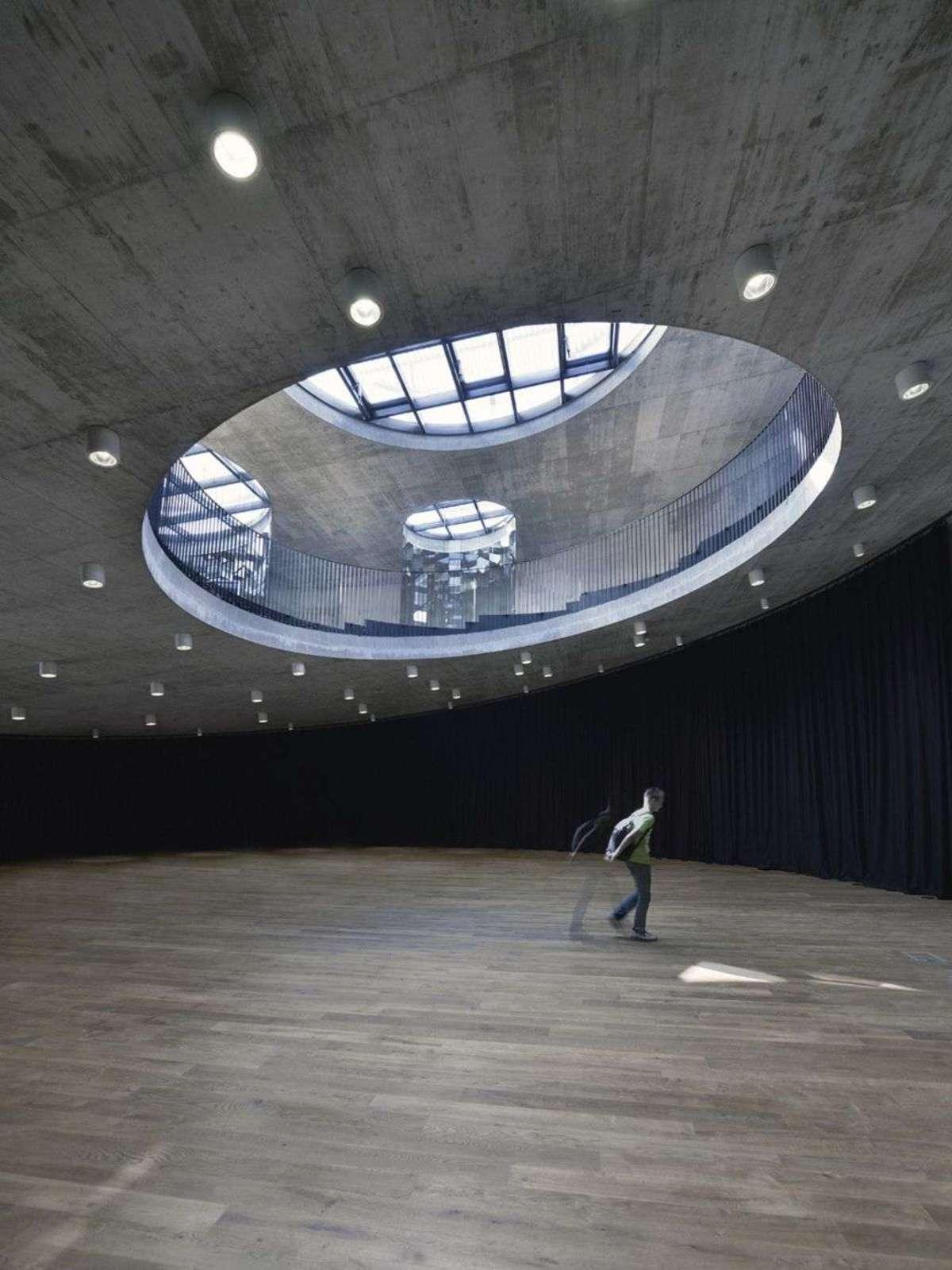 Cultural Center of European Space Technologies (KSEVT) in Vitanje