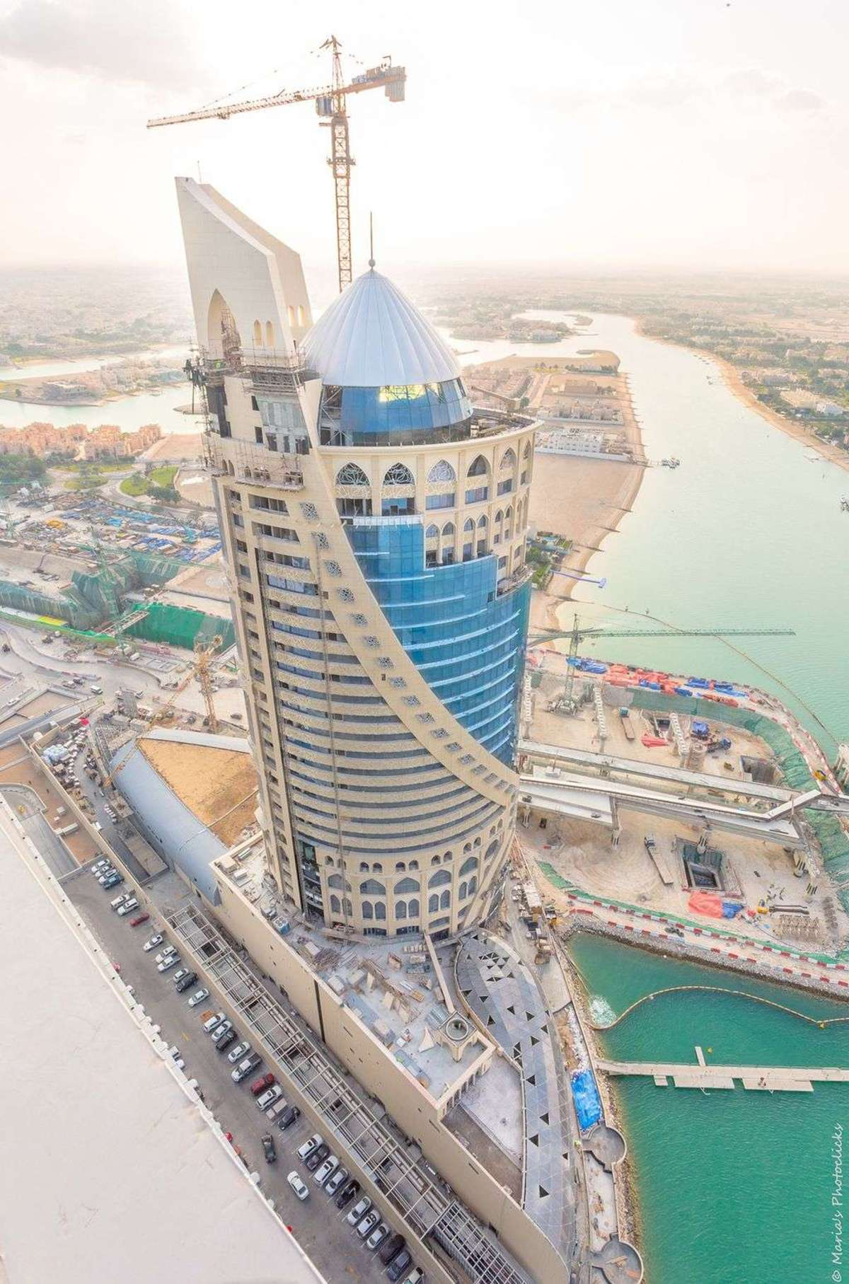 South West Architecture with FMG for Falcon Tower in Doha