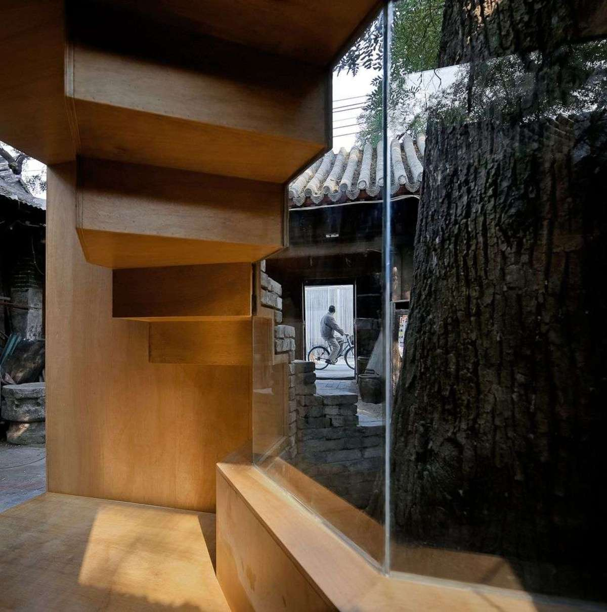 ZAO/standardarchitecture: Micro-Yuan'er in a hutong in Beijing