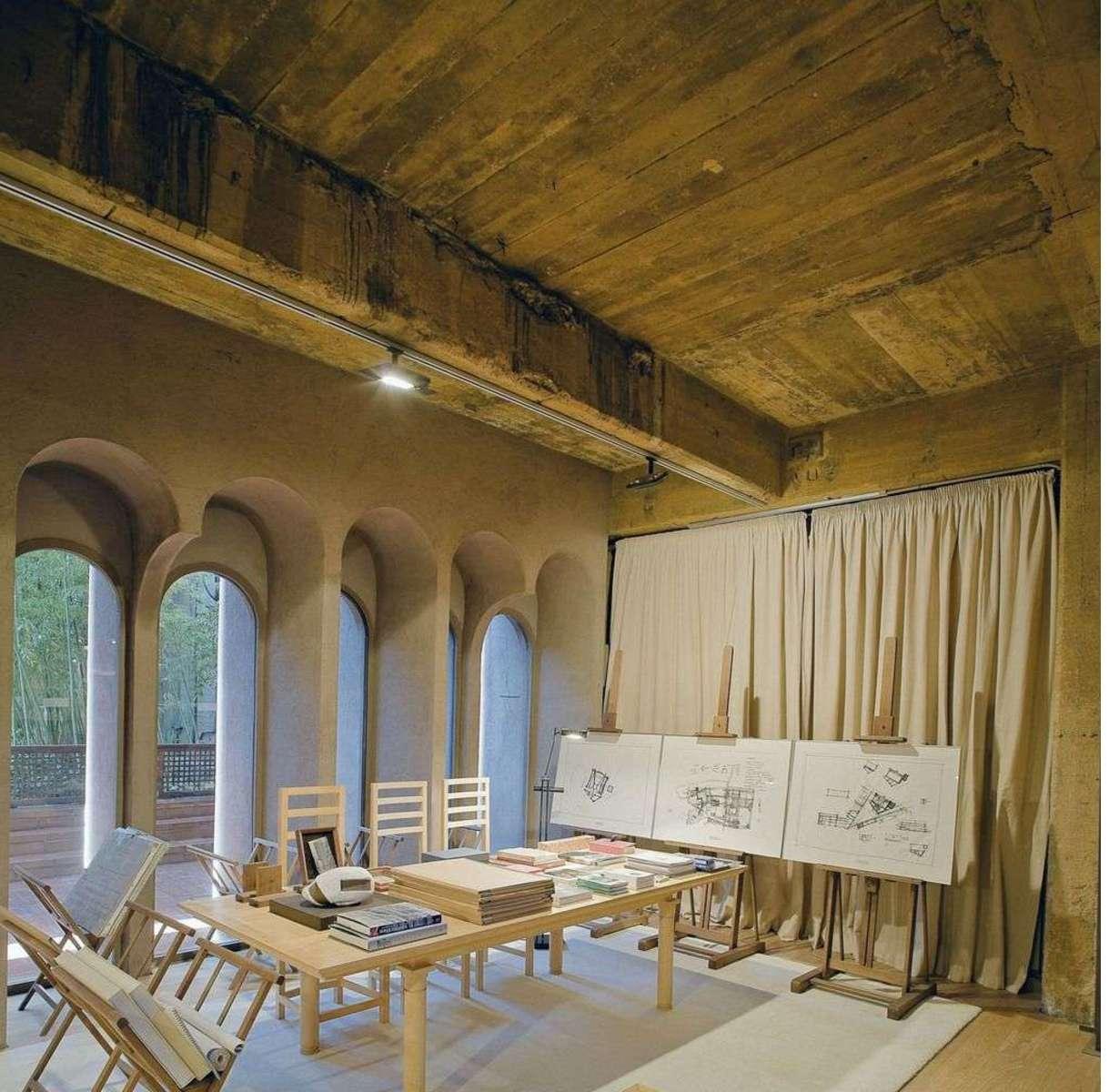 Ricardo Bofill And La Fa;brica: Studio In A Former Cement