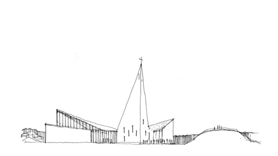 Reiulf Ramstad Arkitekter (RRA) and the Community Church in Knarvik