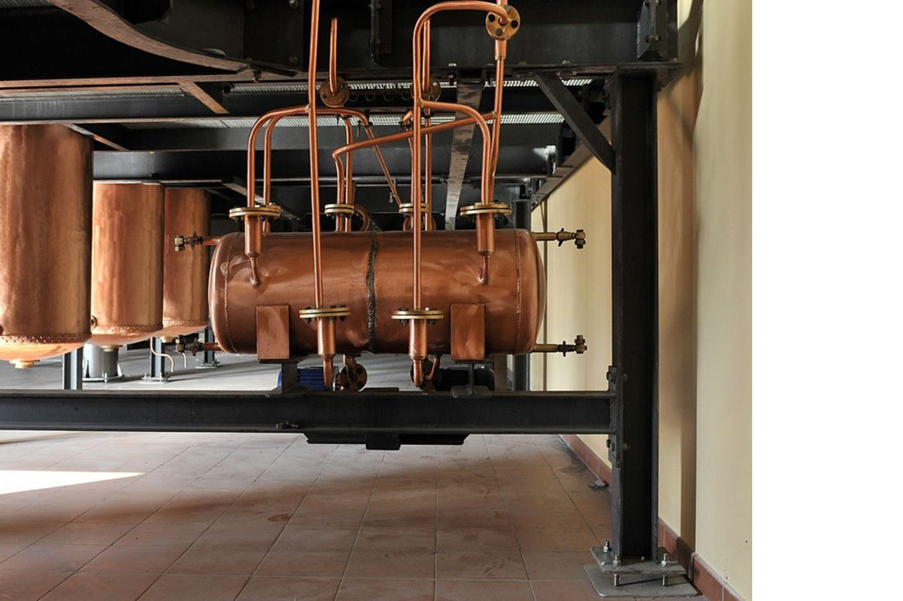 Distilleria Zanin Zugliano with FMG floor tiles