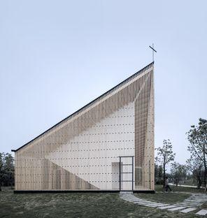 AZL Architects and the Nanjing Wanjing Garden Chapel
