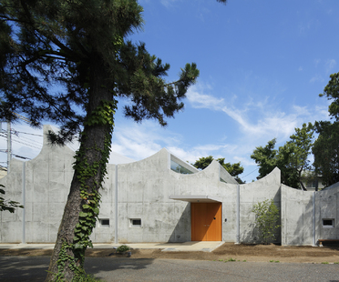 Takeshi Hosaka's Shonan Christ Church in Fujisawa (Japan)