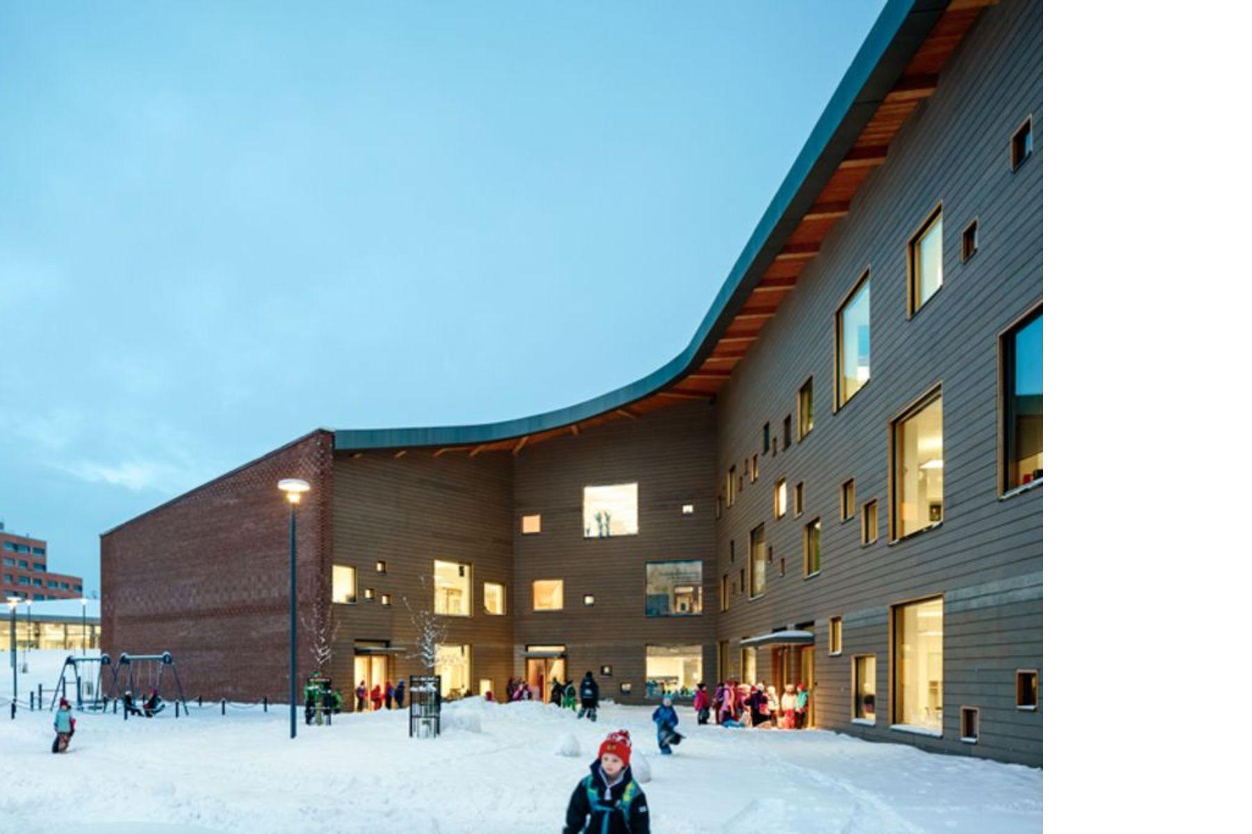 Verstas Architects and Saunalahti School in Espoo