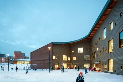 Verstas Architects and Saunalahti School in Espoo