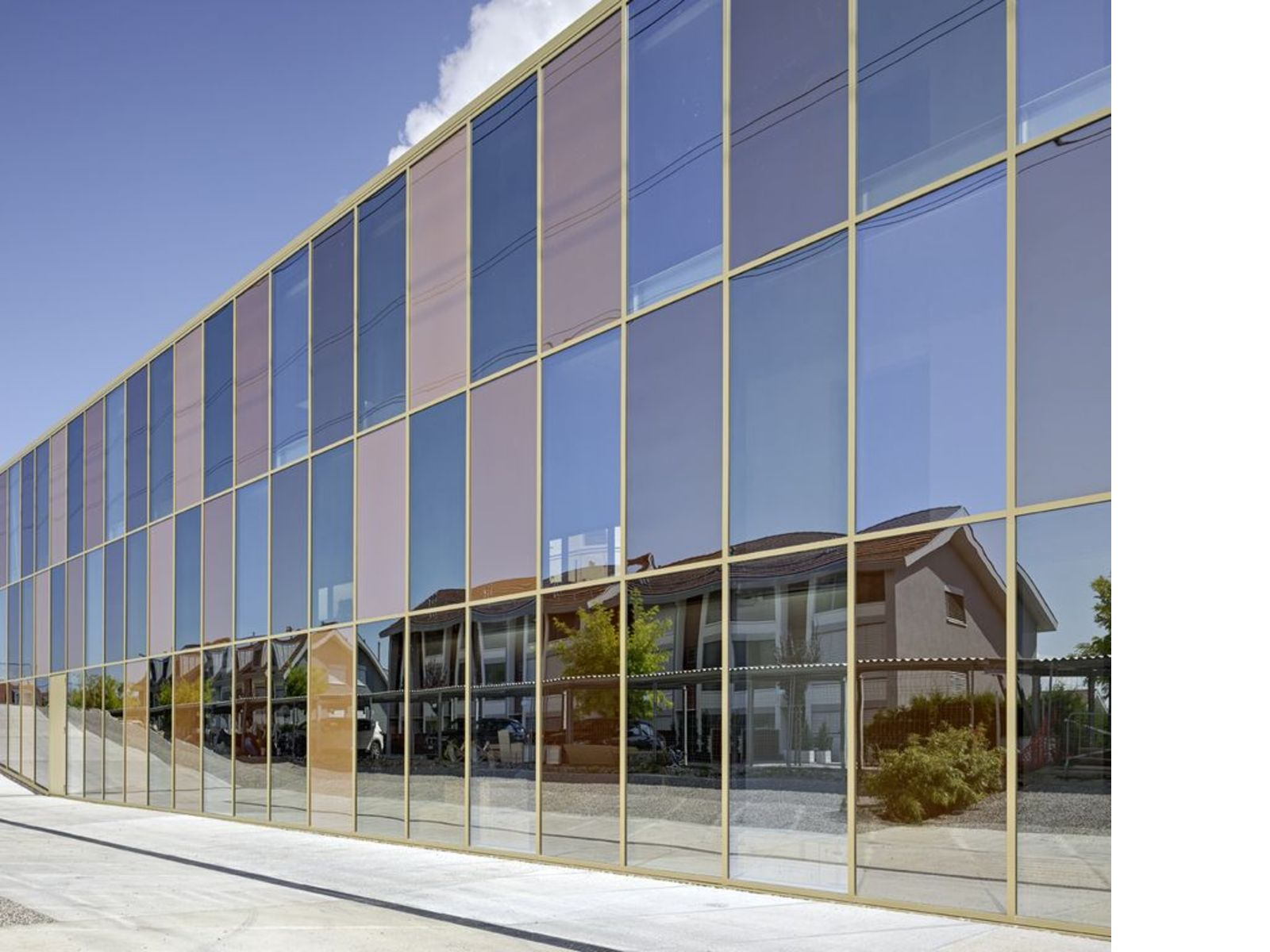 2b Architectes and the Jolimont Nord offices in Mont-sur-Rolle