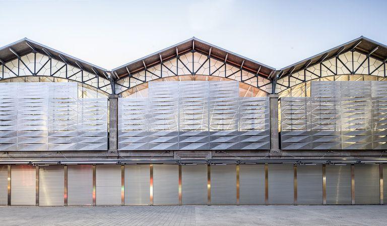 Mateo Arquitectura renovates Barcelona's Ninot market
