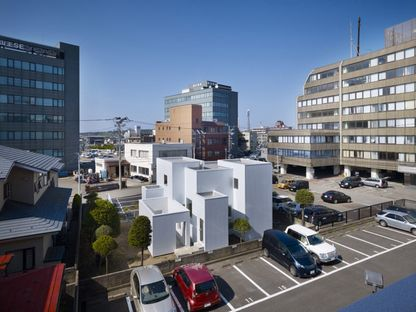 What to see in Japan: houses in the city