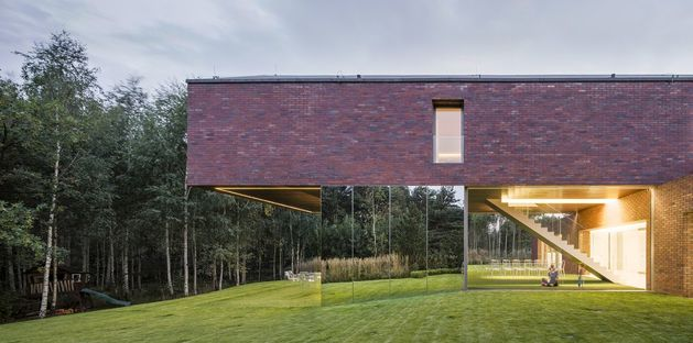 Konieczny – KWK Promes and the Living-garden house, Poland