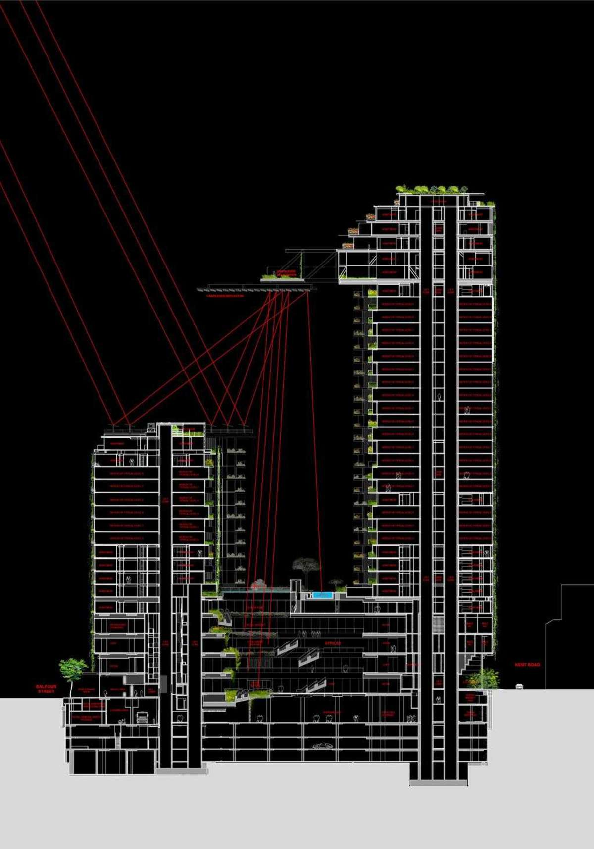 Jean Nouvel and the One Central Park green homes in Sydney | Floornature