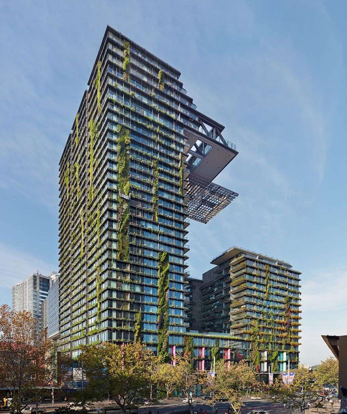 Central Prk: Jean Nouvel And The One Central Park Green Homes In Sydney