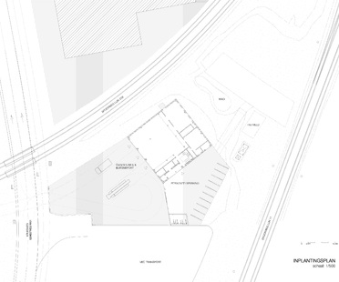 Bovenbouw: new firefighters' station in Berendrecht