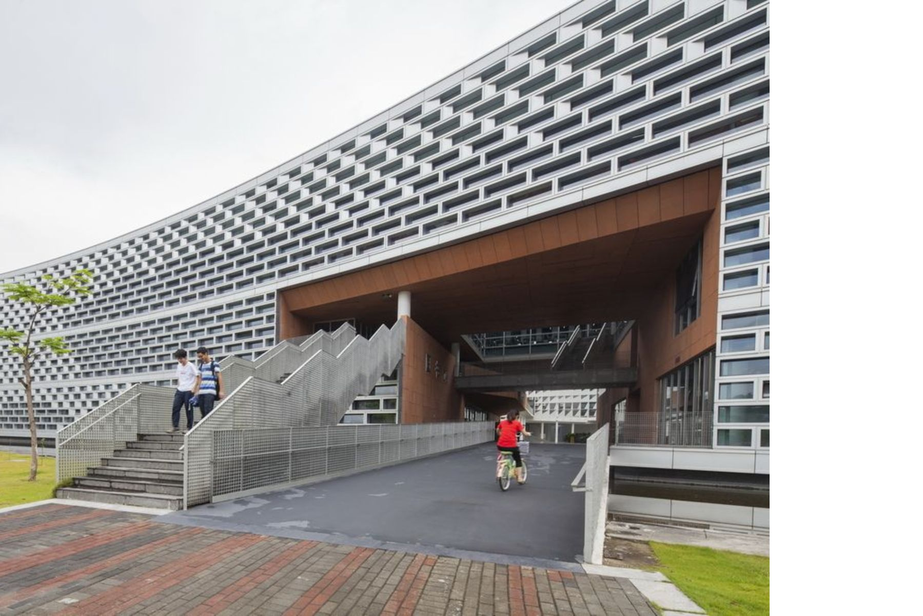 Urbanus and SUST university library in Shenzhen