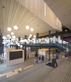 Reiulf Ramstad Arkitekter (RRA): Kimen Cultural Centre Stjørdal