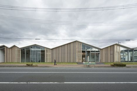 Kengo Kuma designs Towada City Plaza community centre