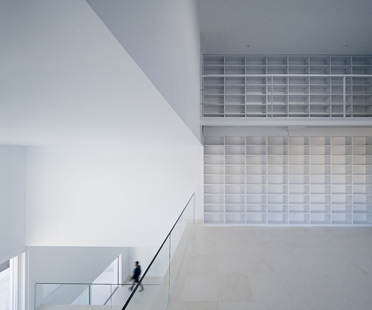 Alberto Campo Baeza and the Raumplan in a house in Madrid