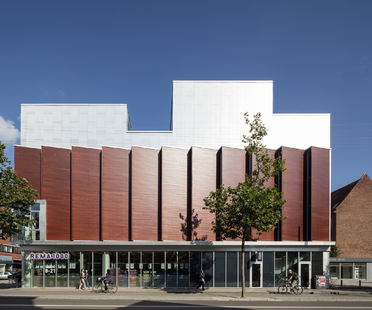 Dorte Mandrup and the SH2-Sundbyoster Hall 2 complex in Copenhagen