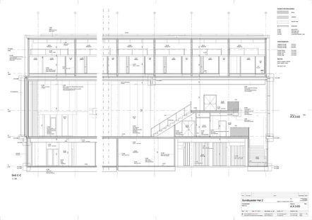 Dorte Mandrup and the SH2-Sundbyoster Hall 2 complex in Copenhagen