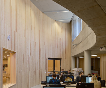 Tham & Videgård design the new Stockholm School of Architecture